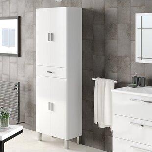 Valdo 60cm W X 182cm H Bathroom Cabinet