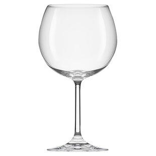 Gala 16 oz. Crystal Stemmed Wine Glass (Set of 6)