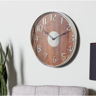 Mayton Modern Round 18 Wall Clock by Brayden Studio
