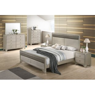 Yates Panel 4 Piece Bedroom Set by Rosdorf Park Modern