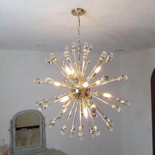 Mercer41 Kucharski 12-Light Sputnik Chandelier