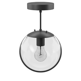 Wysocki 1-Light Globe Pendant by Mercury Row