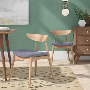 Drumnadrough Upholstered Dining Chair (Set of 2)