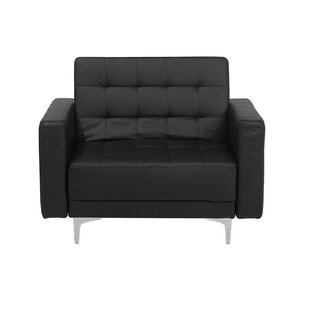 Gouldin Modular Faux Leather Armchair by Orren Ellis