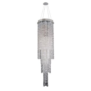 Allegri by Kalco Lighting Boticelli 4-Light Crystal Chandelier