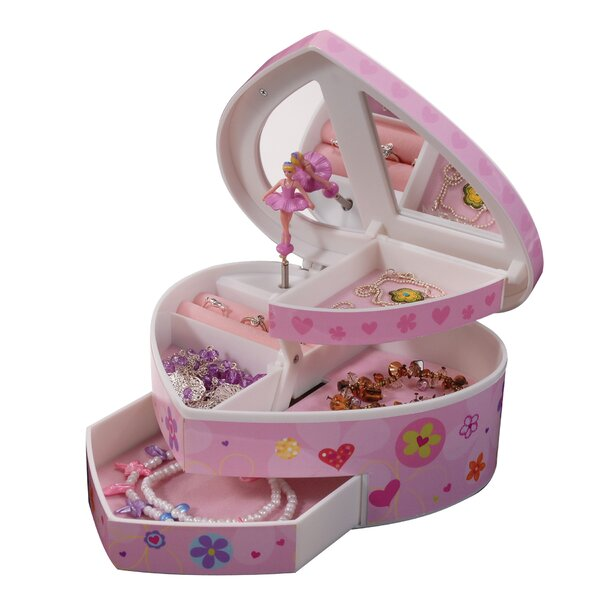 Wood Kids Jewelry Boxes Holders Youll Love Wayfair