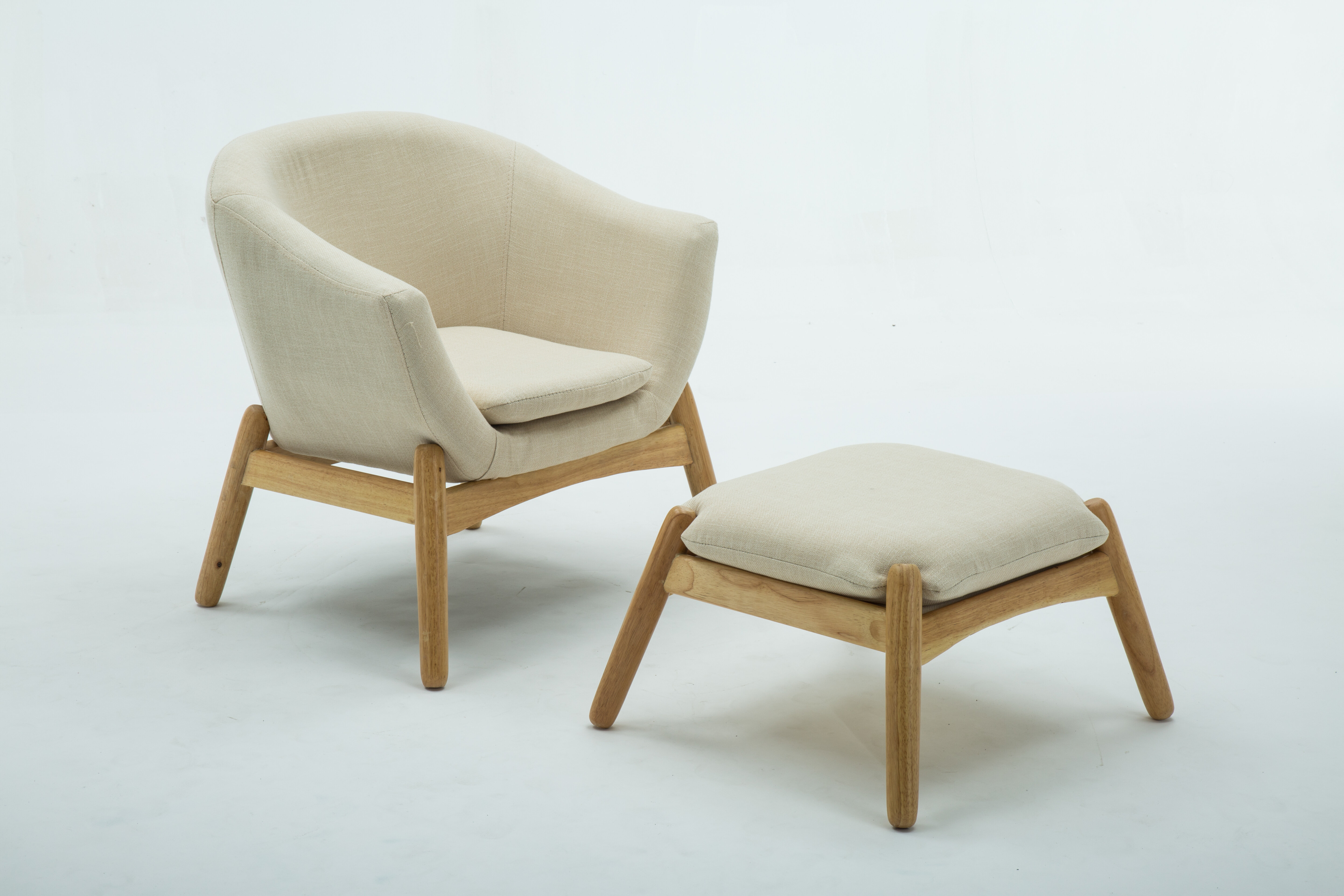 travis 16 lounge chair and ottoman a