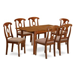Katie 7 Piece Dinning Set Alcott Hill