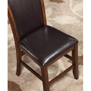 Rancho Santa Margarita Traditional Upholstered Dining Chair by Loon Peak