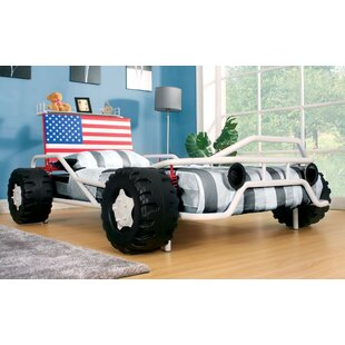 American Pride Race Twin Car Bed by Hokku Designs
