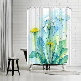 East Urban Home Sam Nagel Dandelion Shower Curtain