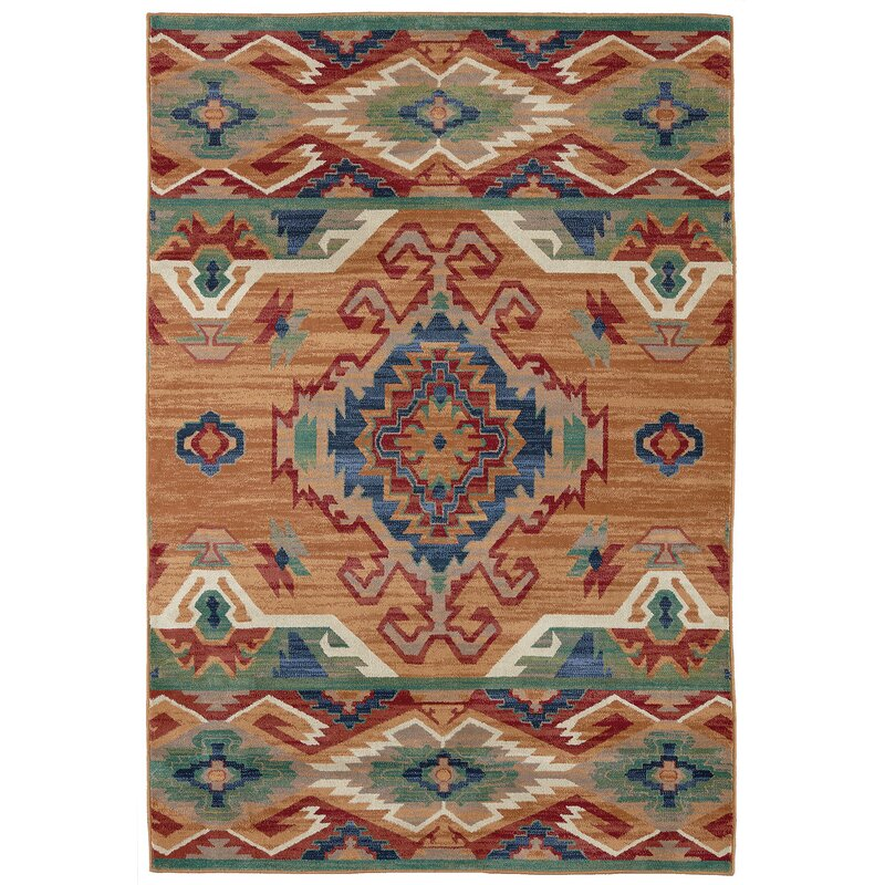 Destinations Roswell Marigold Area Rug