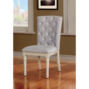 Briony Transitional Upholstered Dining Chair (Set of 2) House of Hampton