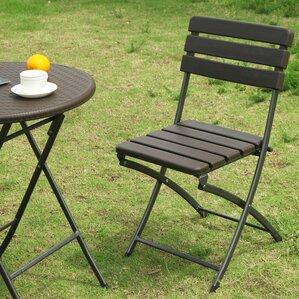 Birdsell Folding Patio Dining Chair (Set Of 2)