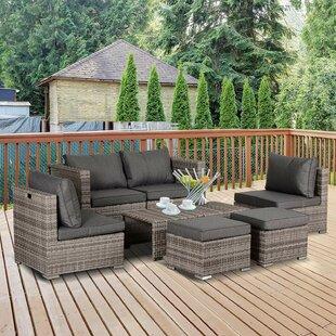 Nantan 4 Seater Rattan Sofa Set By Sol 72 Outdoor