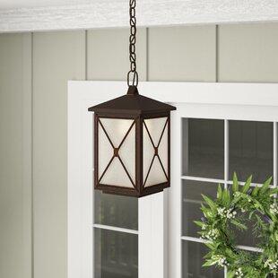 Where buy  Sagebrush 1-Light LED Outdoor Hanging Lantern By Laurel Foundry Modern Farmhouse