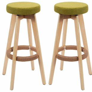 Where buy  Trask 29 Swivel Bar Stool (Set of 2) by Red Barrel Studio Reviews (2019) & Buyer's Guide