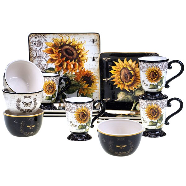 Cuisinart Sunflower Dinnerware | Wayfair