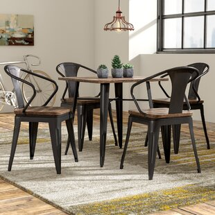 Dupuis Loft 5 Piece Dining Set