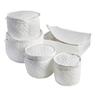 5 Piece Dinnerware Storage Set