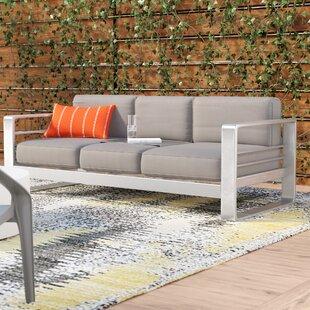 Wade Logan Durbin Loveseat with Cushions