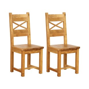 Millais Petite Solid Wood Dining Chair (Set Of 2) By Union Rustic