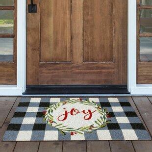 Coir Holiday Doormat Wayfair