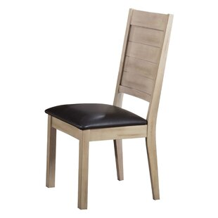 Spicer PU Side Chair (Set of 2) Loon Peak
