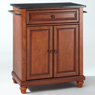 Cambridge Kitchen Cart with Granite Top Crosley