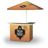 Zopyros Halloween Trick or Treat Ghost 2-Piece Home Bar Set