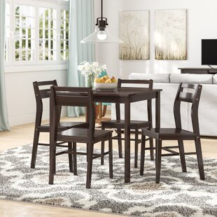 Hersom 5-Piece Dining Set by Winston Porter