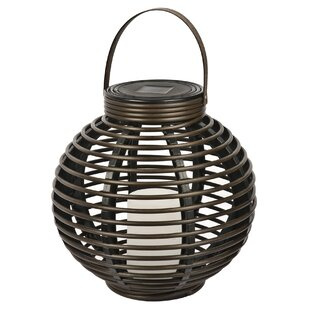 Solar Flickering Basket Hanging Plastic Lantern By NorthernInternational