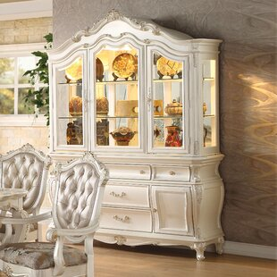 Astoria Grand Wensley Lighted China Cabinet