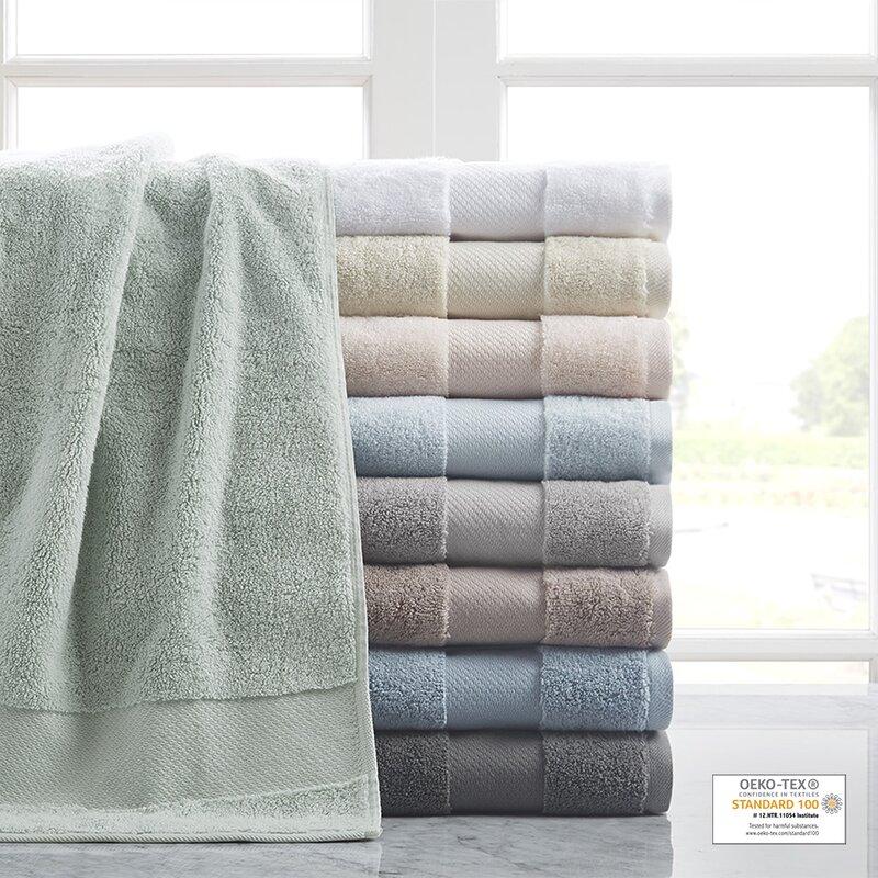 Lemon Blossoms 4-pc Coordinated Kitchen Towel Set 100/% Easy Care Cotton
