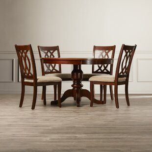 Freeport 5 Piece Solid Wood Dining Set Astoria Grand