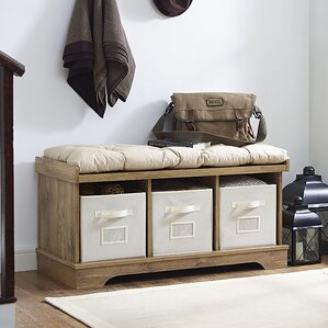 Liller Upholstered Storage Bench