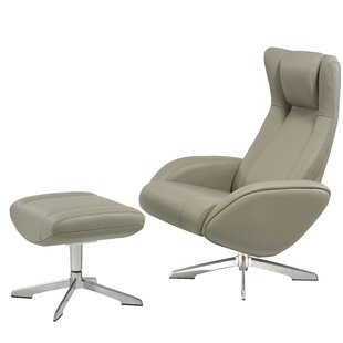 Castle Swivel Lounge Chair and Ottoman