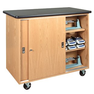 Balance Portable Classroom Cabinet with Casters by Diversified Woodcrafts