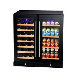 34 Bottle Dual Zone Convertible Wine Cooler