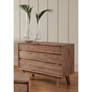 Jasmin 3 Drawer Chest By World Menagerie
