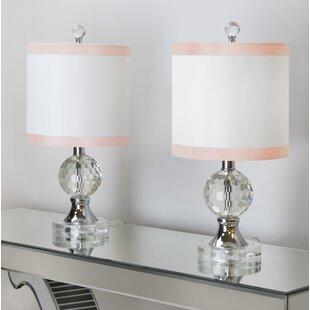 House of Hampton Belmont Faceted Table Lamp (Set of 2)