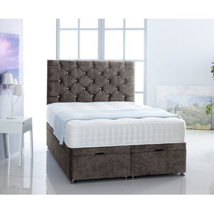 Daniella Upholstered Ottoman Bed With Mattress By Willa Arlo Interiors
