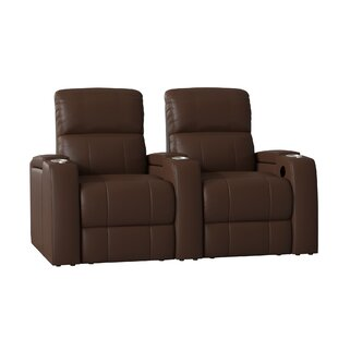 Latitude Run Large Home Theater Curved Row Seating (Row of 2)
