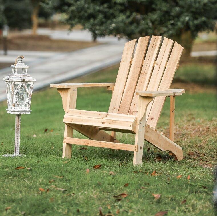 Exceptional Allard Falls Solid Wood Adirondack Chair