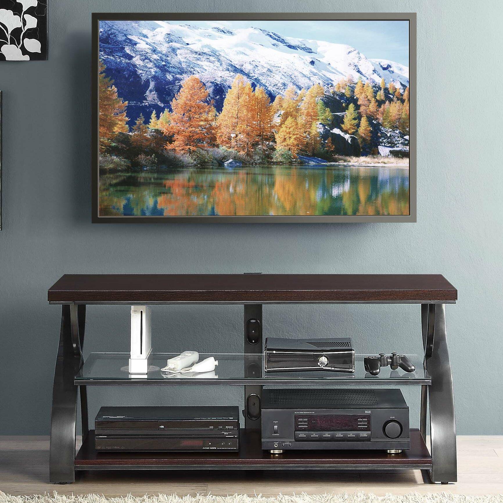 Ebern Designs Halford Calico Tv Stand Reviews Wayfair