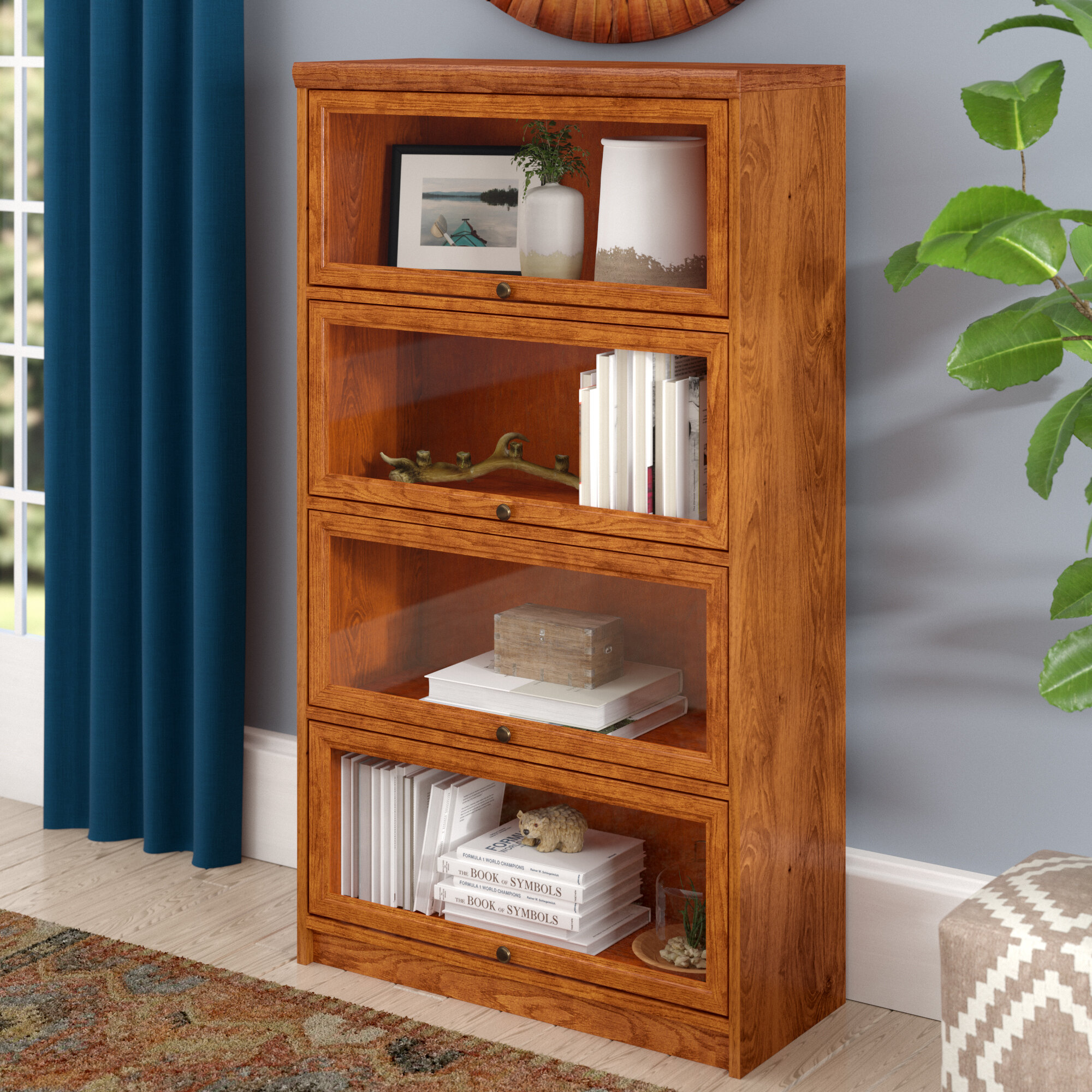 Loon Peak Lapierre Barrister Bookcase Reviews Wayfair