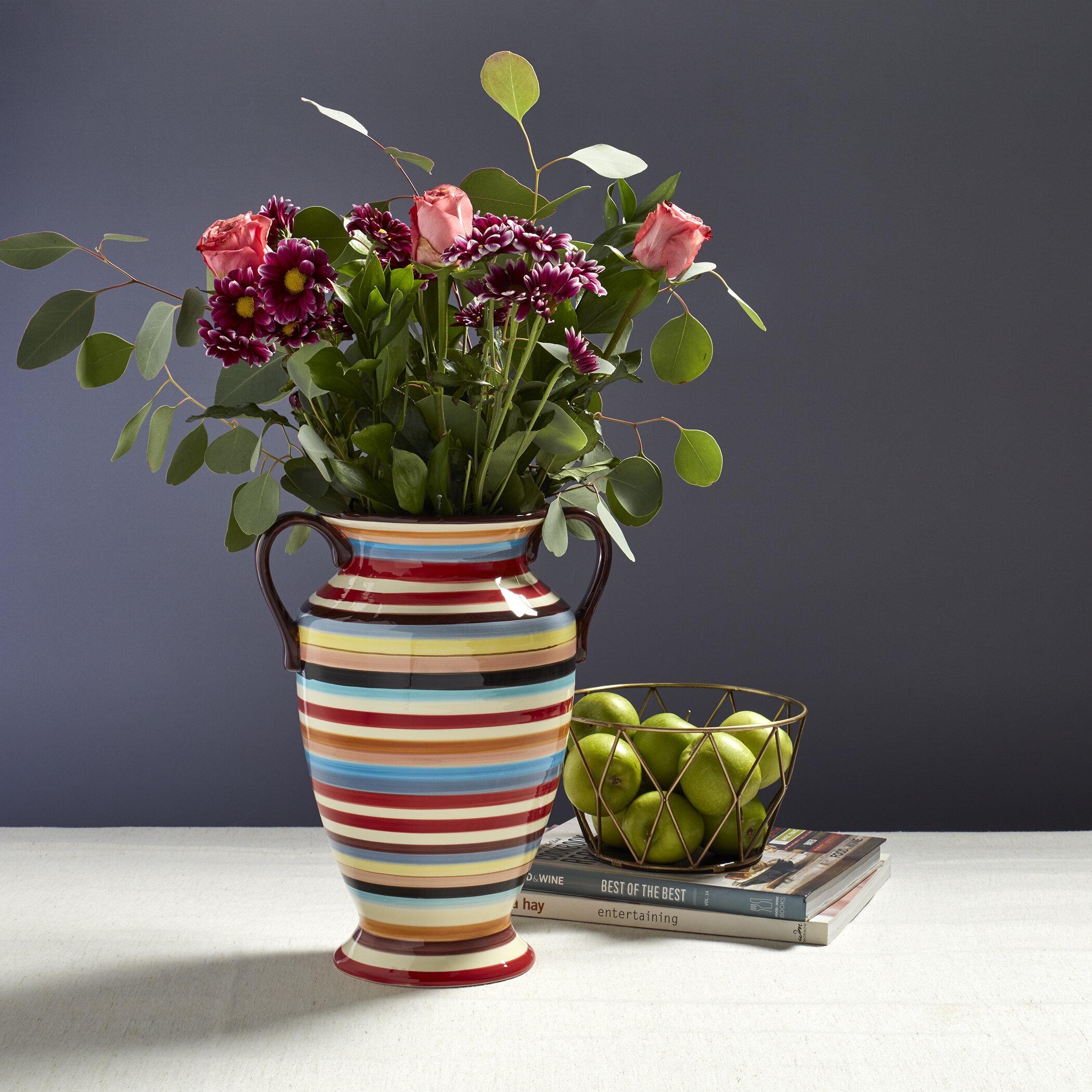 Earthenware Vases Urns Jars Bottles You Ll Love In 2021 Wayfair