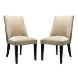 Martinelli Upholstered Parsons Chair (Set of 2) by Red Barrel Studio®
