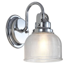 Top Reviews Gilcrease 1-Light Bath Sconce By Breakwater Bay