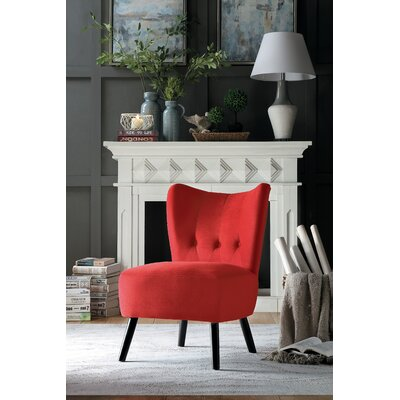 Red Velvet Accent Chairs You Ll Love In 2020 Wayfair